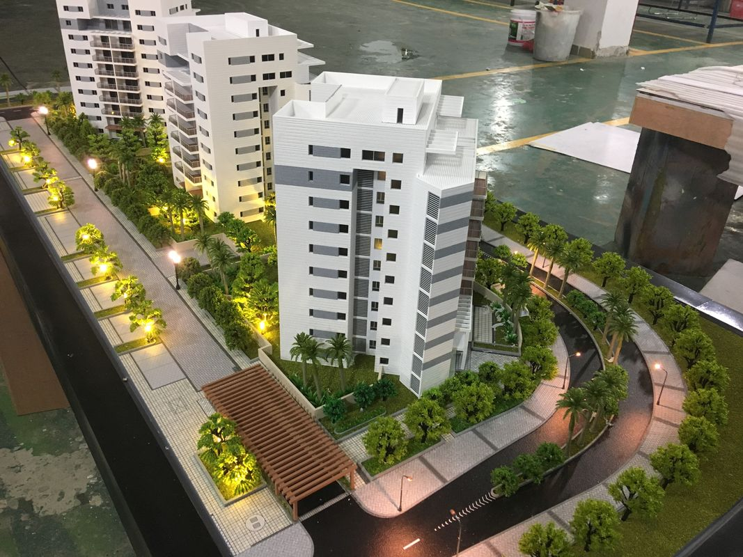 Customized Scale Size Residential Building Model For Real Estate Display